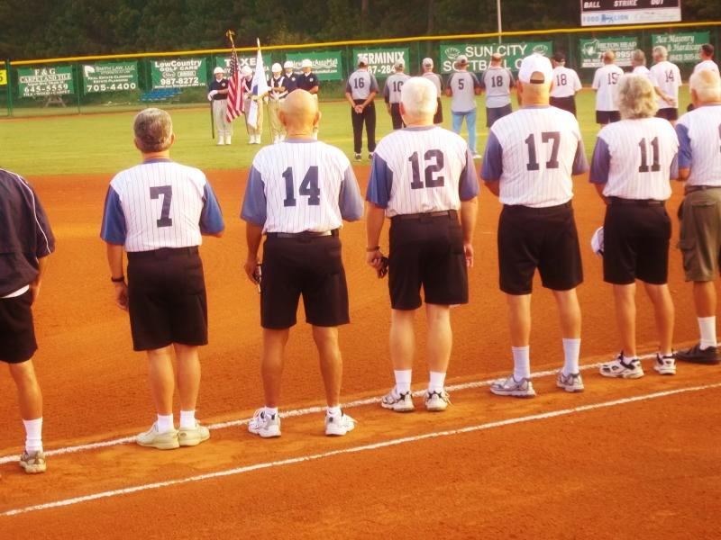 Softball Opening Ceremonies